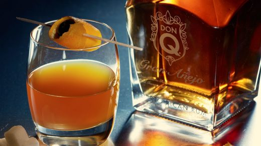 Rum Old Fashioned Don Q Anejo