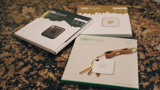 Tile Mate, Fashion, and Sport Trackers