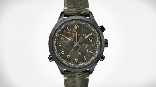 Timex Waterbury World Time Watch