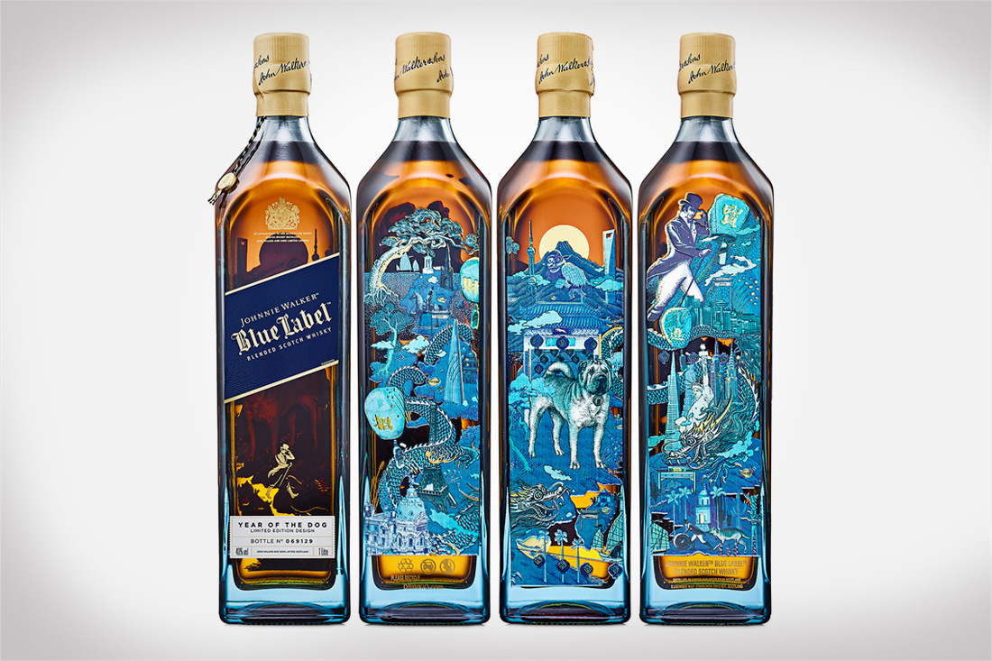 Celebrate the Lunar New Year With Johnnie Walker Blue Label Year of the Dog