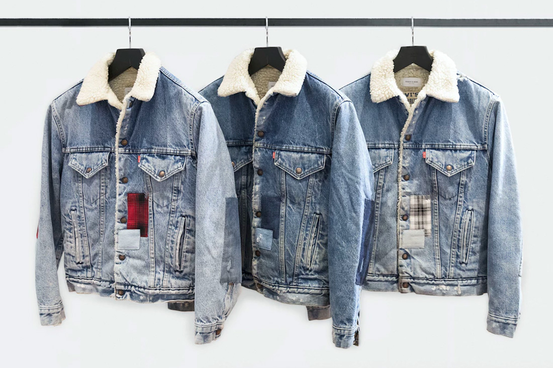 Ovadia & Sons Teams Up With Levi's on Vintage Patchwork Jackets