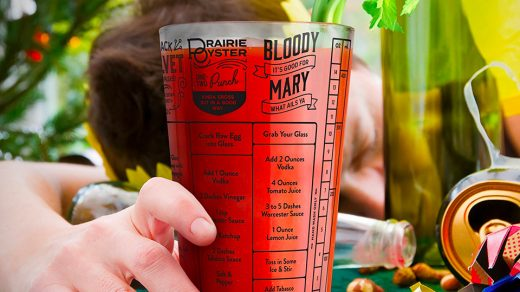Hangover Cocktail Glass