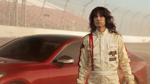 Kia Stinger GT Steven Tyler Super Bowl ad