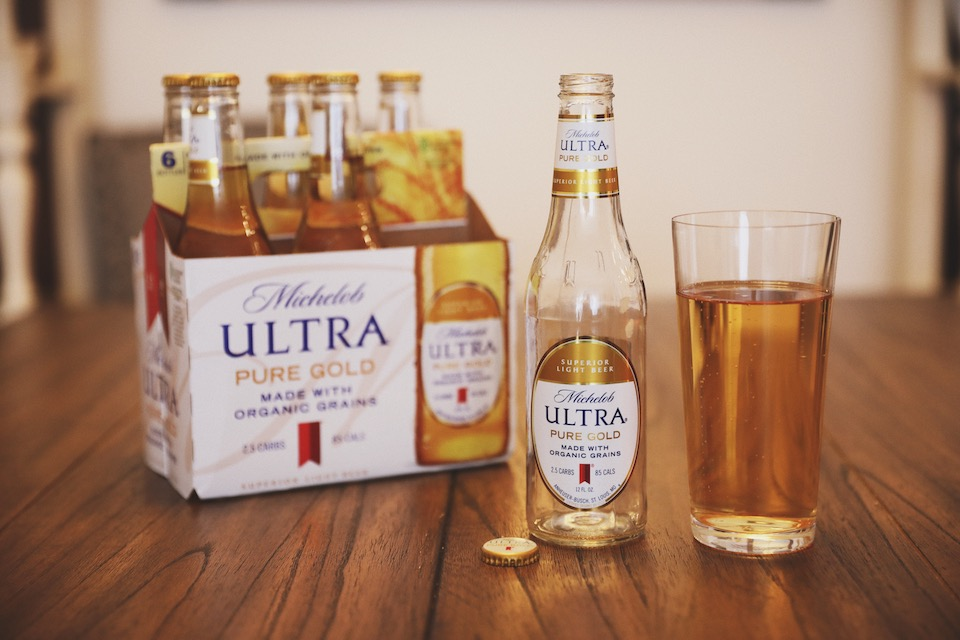 Michelob ULTRA Pure Gold is Made With Organic Grains