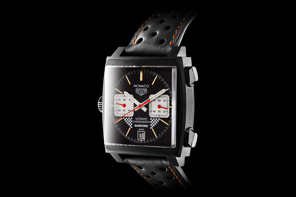 Vintage Heuer x Bamford Tag Heuer Monaco Watch