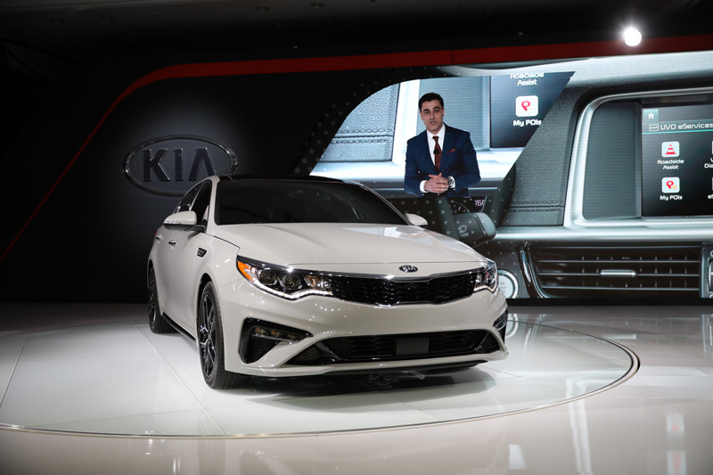 Refreshed 2019 Kia Optima SX
