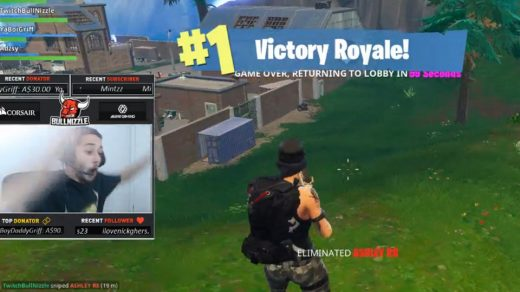 Insane Fornite Victory Kill on a rocket