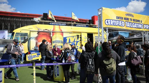 Twisted Tea Tailgate RV Tour