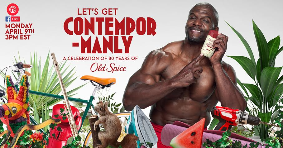 Terry Crews Old Spice Contempormanly