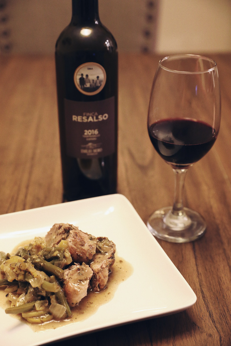 Emilio Moro Tempranillo Wine with Pork Tenderloin