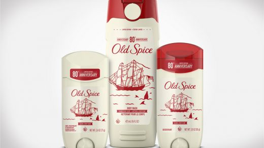 Old Spice 80th Anniversary