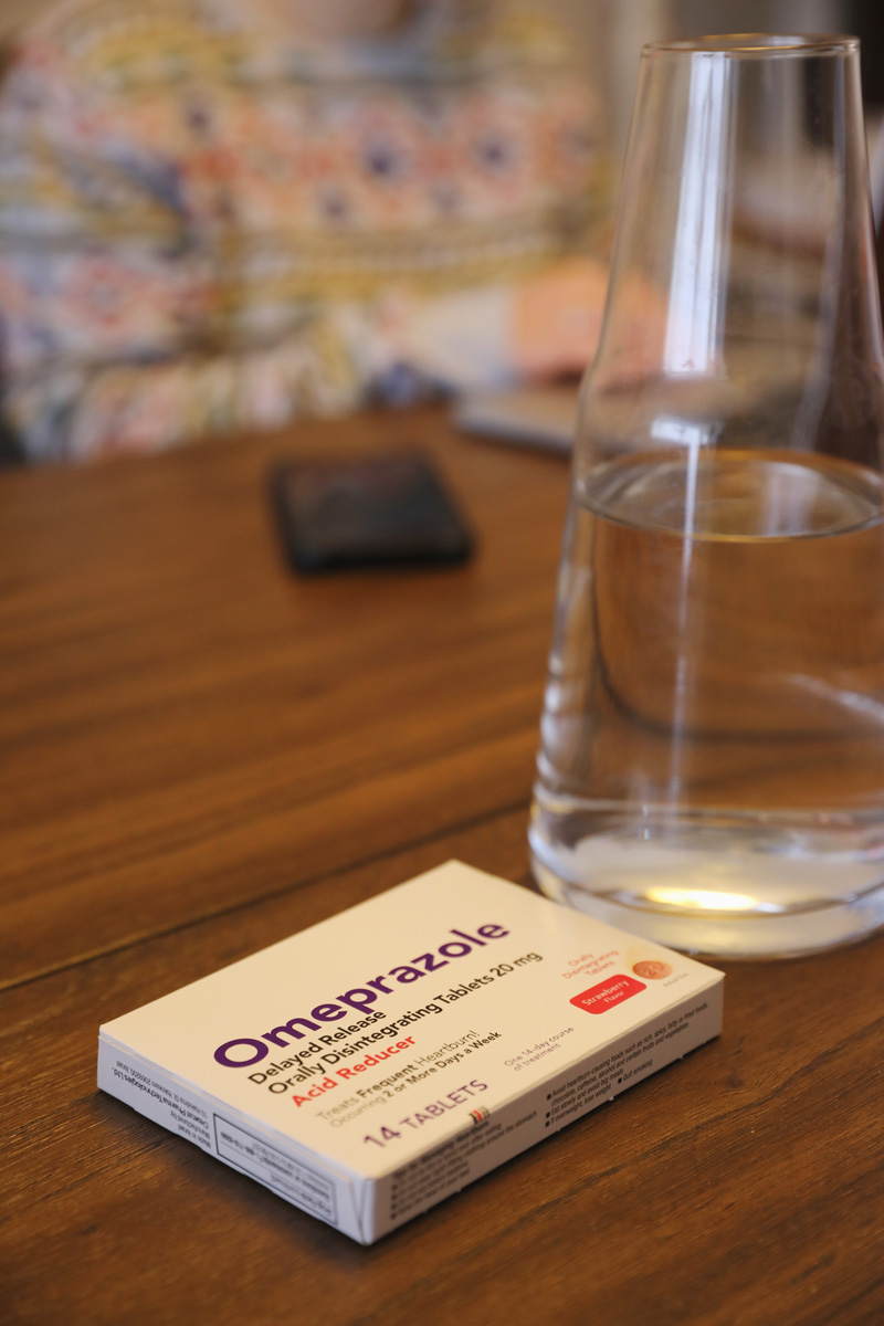 Omeprazole dissolvable tablets
