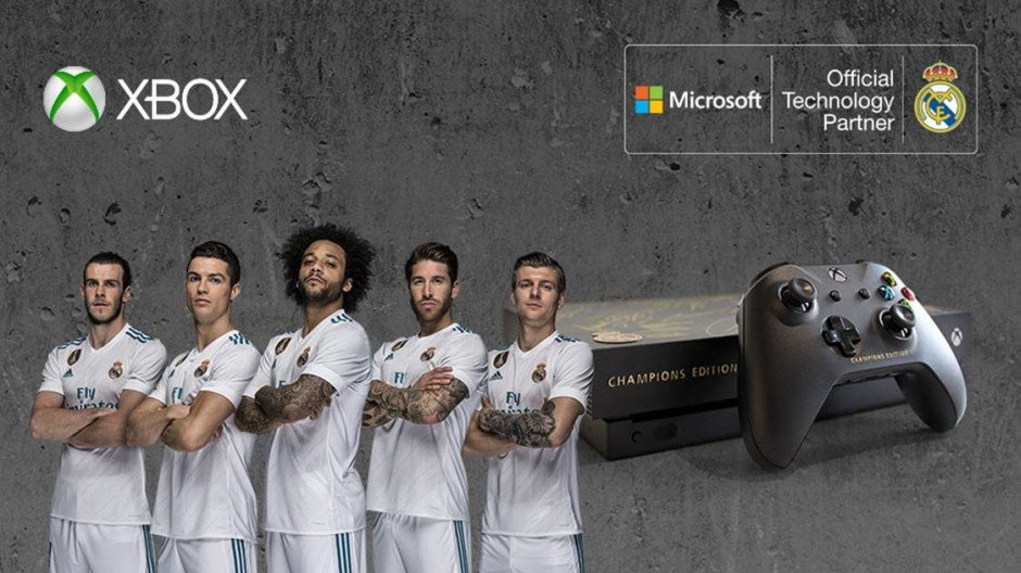 Real Madrid x Xbox Collaboration