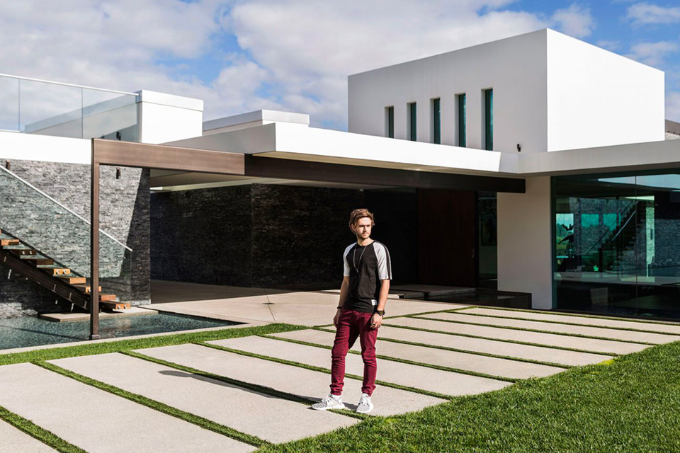 Tour Zedd's $16 million dollar home