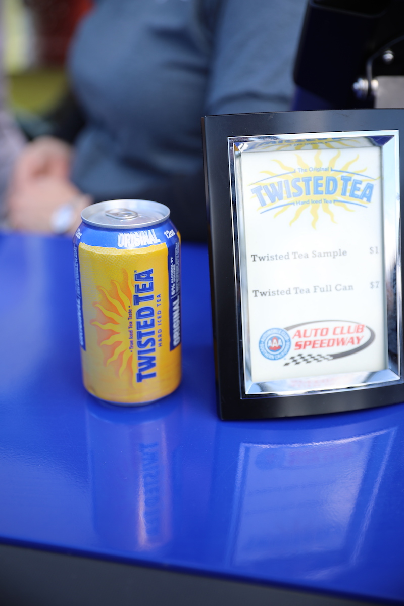 Twisted Tea at the Auto Club Speedway