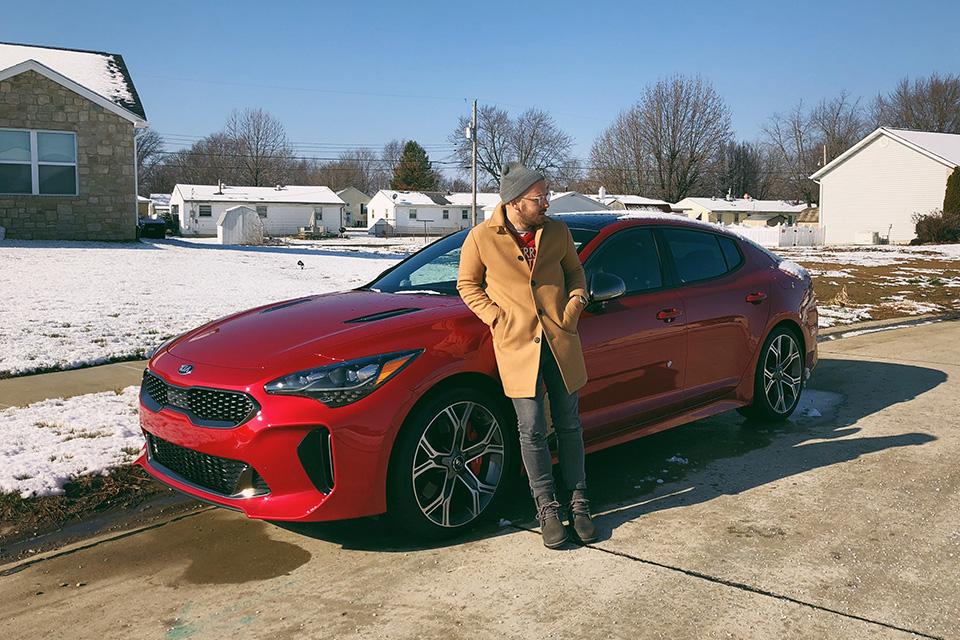 2018 Kia Stinger in Red