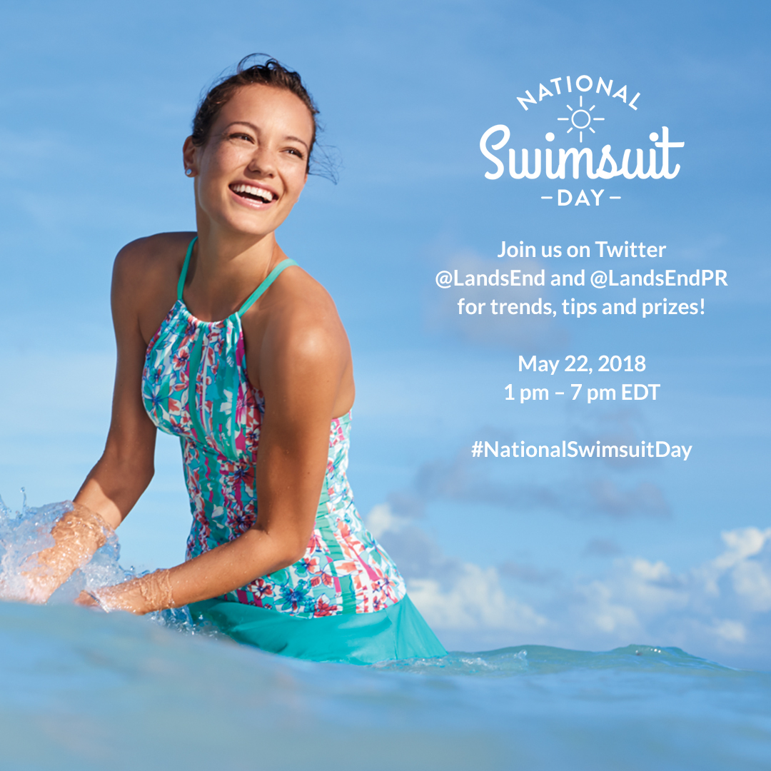 #NationalSwimsuitDay Twitter Event