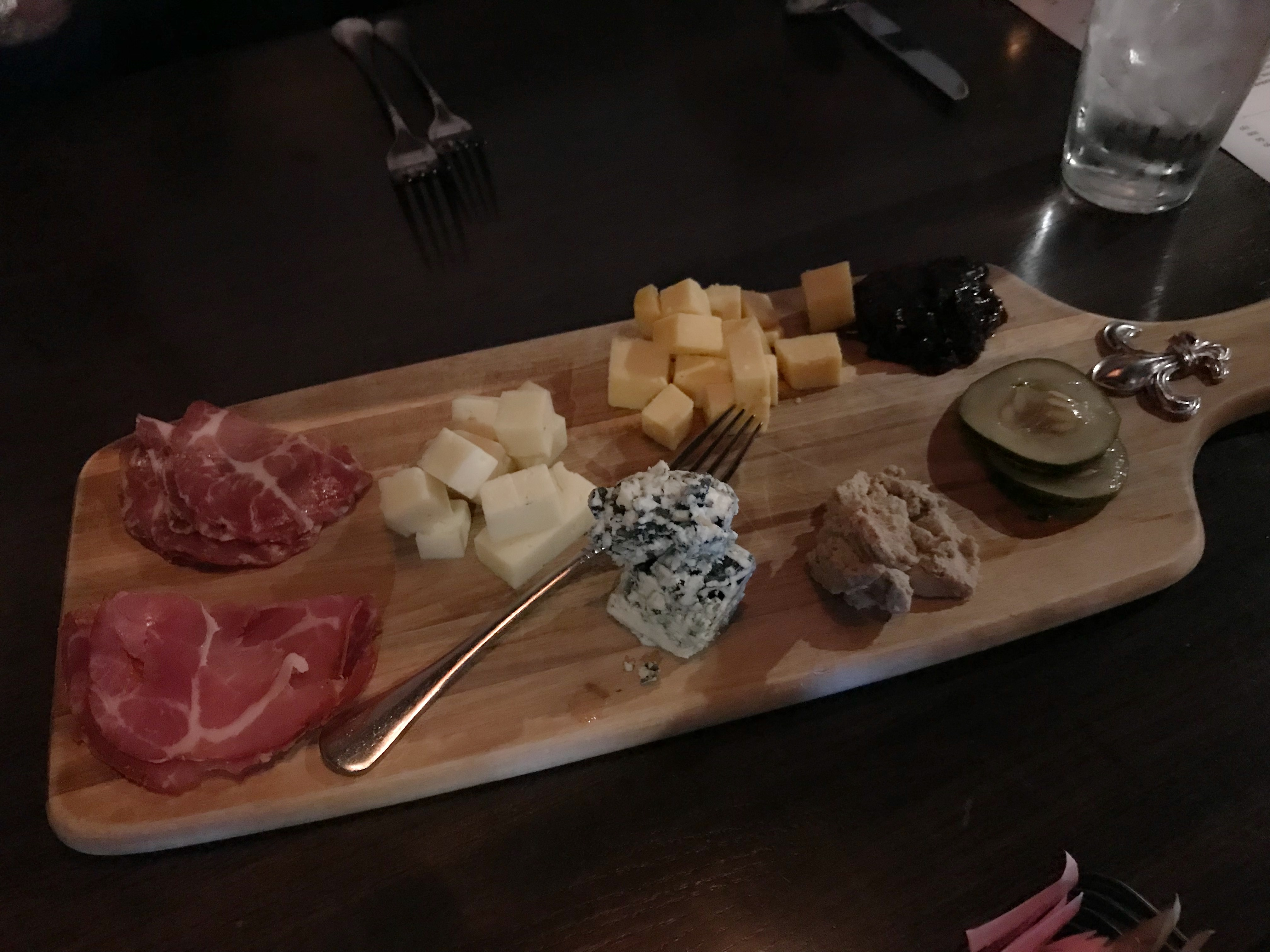 Artisan Cheese and Charcuterie Platter