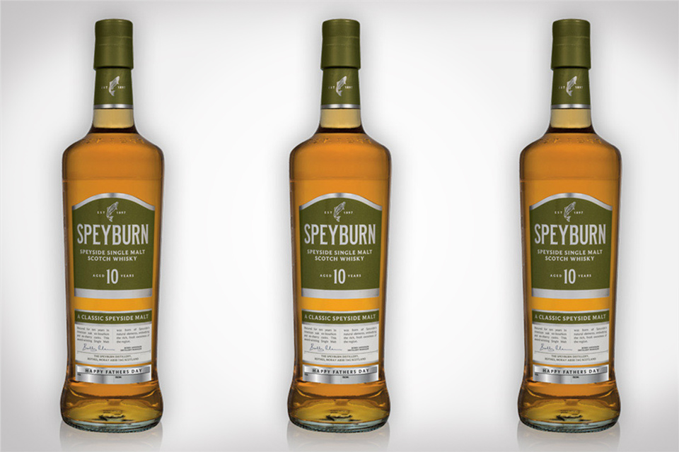 Personalized Speyburn whisky for Father's Day