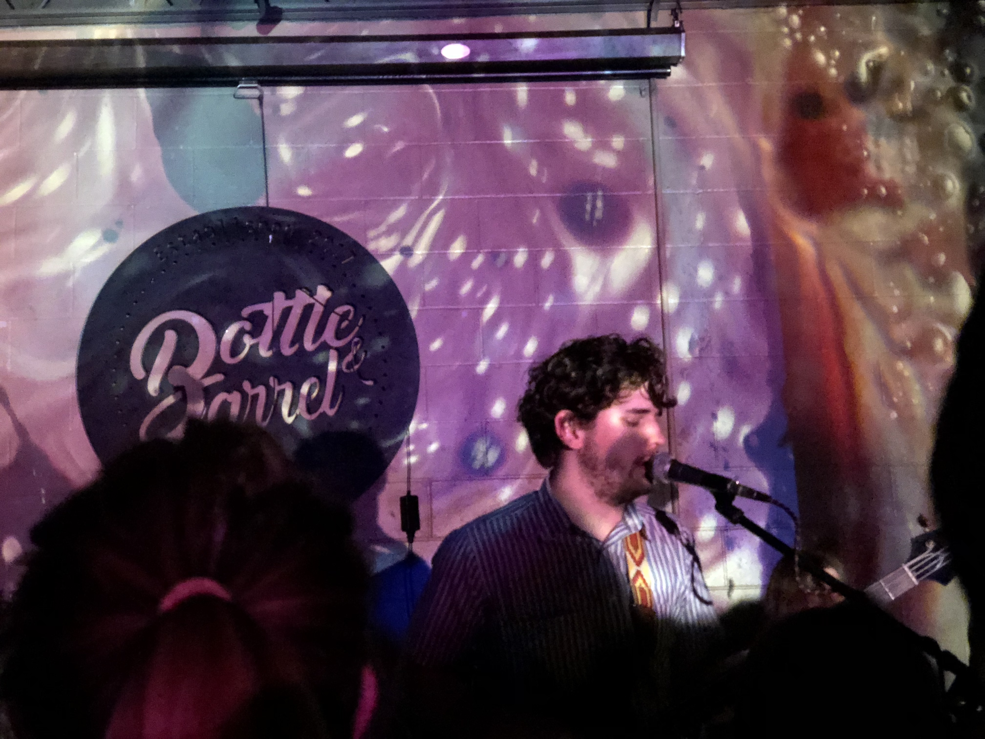 Polyshades Performs at Bottle and Barrel