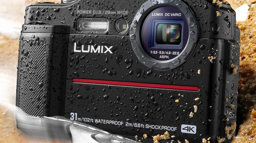 Panasonic DC-TS7K Lumix TS7 Waterproof Tough Camera