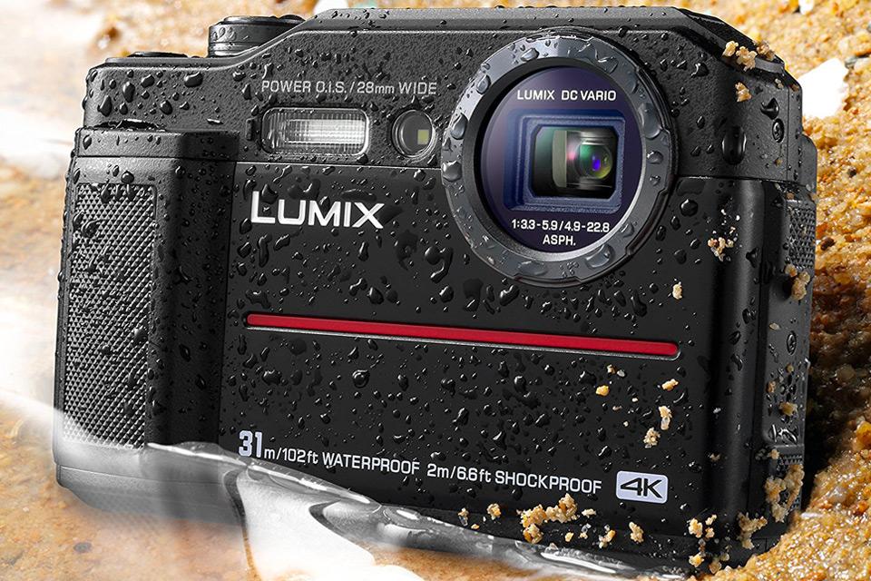 Panasonic DC-TS7K Lumix TS7 Waterproof Tough Camera