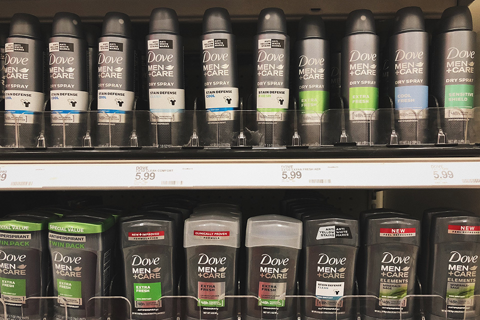 Dove Men+Care Products at Target