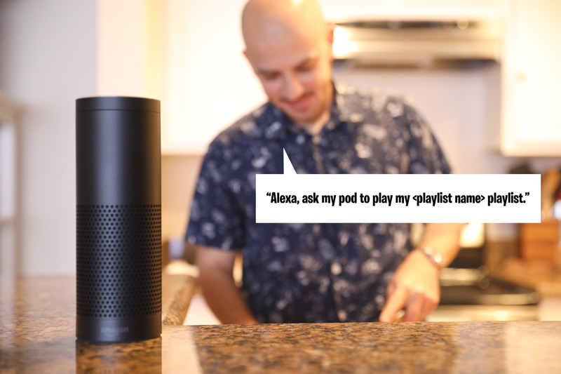 My Pod Amazon Alexa Skill