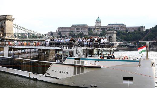 Crystal Ravel Christening in Budapest