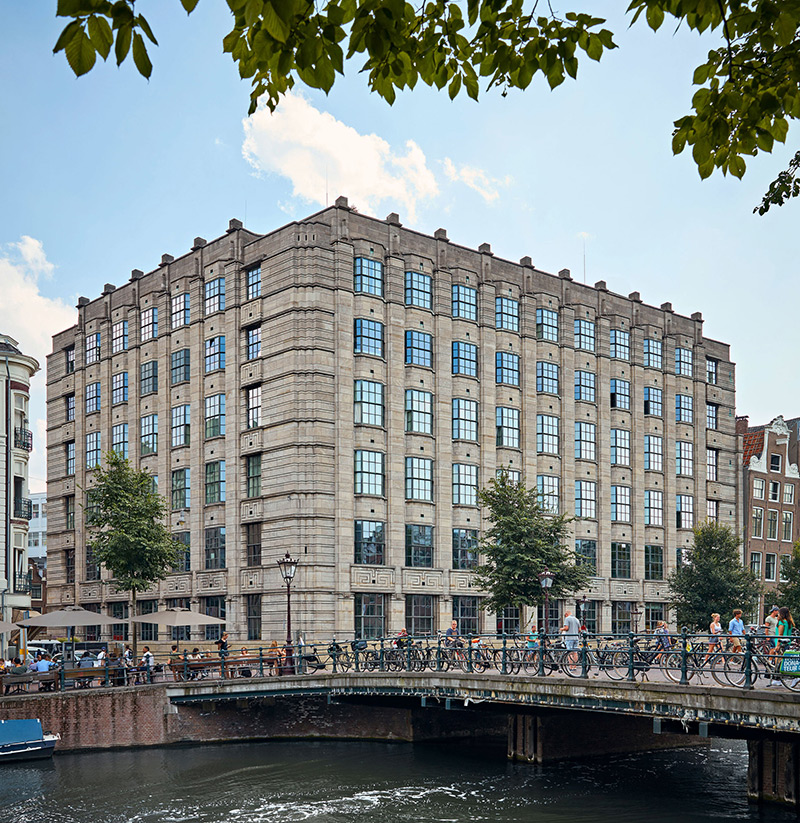 Soho House Amsterdam building