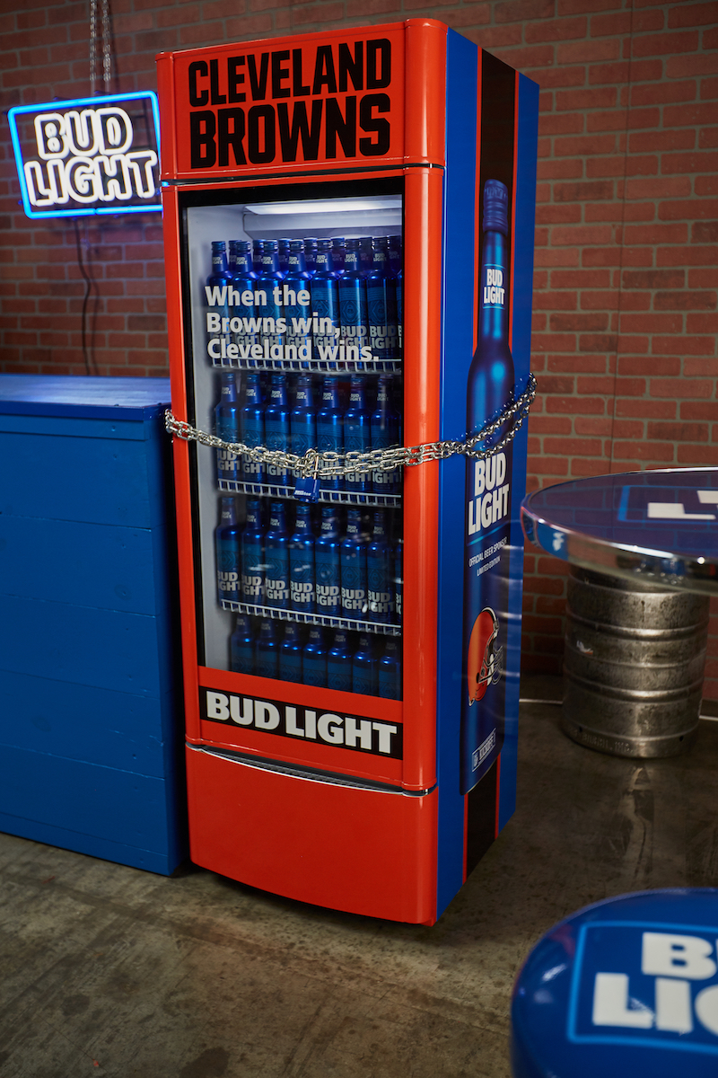Bud Light - Browns Fridge Locked
