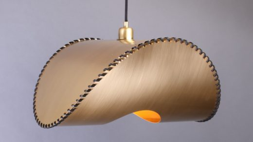 Uniqka Zero Lamp Pendant Brass On