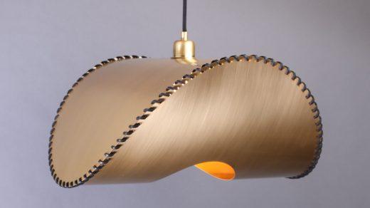 Uniqka Zero Lamp Pendant Brass On