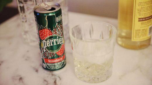 Strawberry + Pineapple Vodka Fizz Recipe