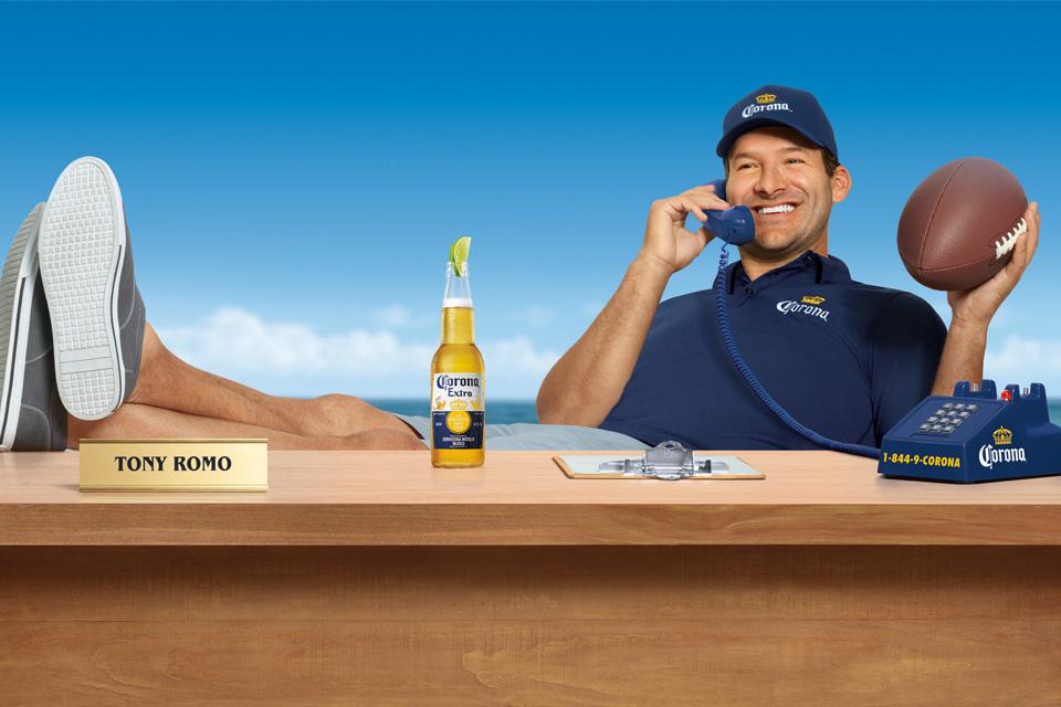 Tony Romo Corona Hotline