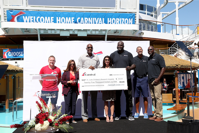 Carnival Horizon Donates $25,000 to St. Jude Childrens Hospital