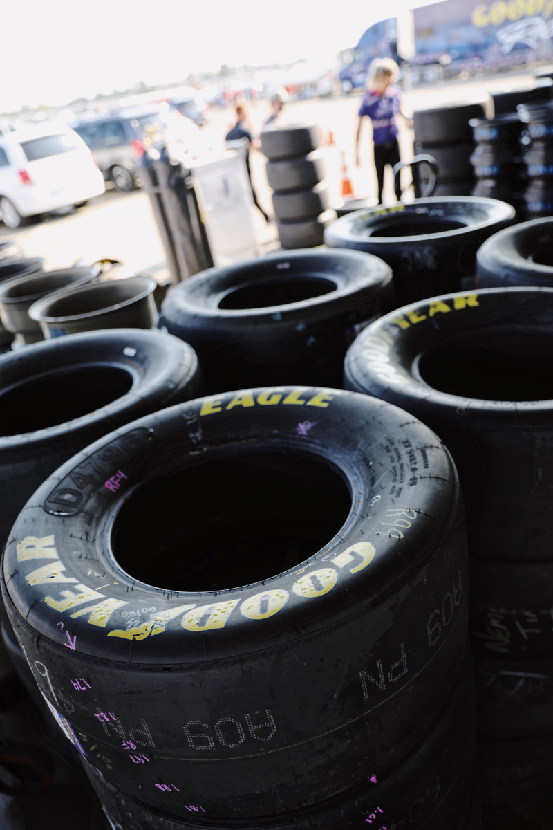 Goodyear Racing Tires at the Michigan International Speedway