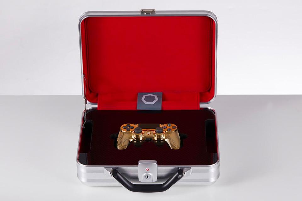 24K Gold Playstation 4 Controller