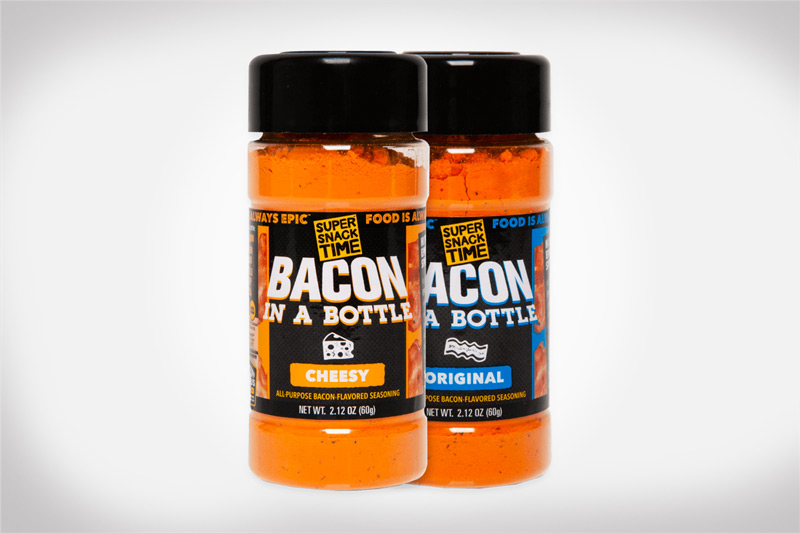 Bacon in a Bottle - Super Snack Time