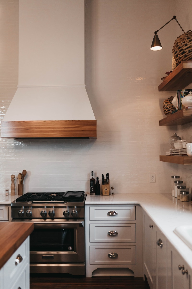 Keeping clean countertops is a great step toward preventing cooking fires