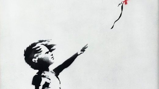 Banksy Girl With Balloon Destroyed