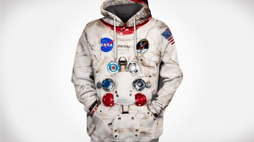 Neil Armstrong inspired space suit hoodie