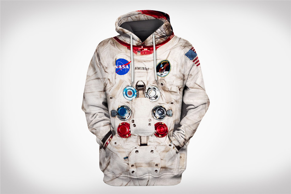 Neil Armstrong Inspired Astronaut Hoodie