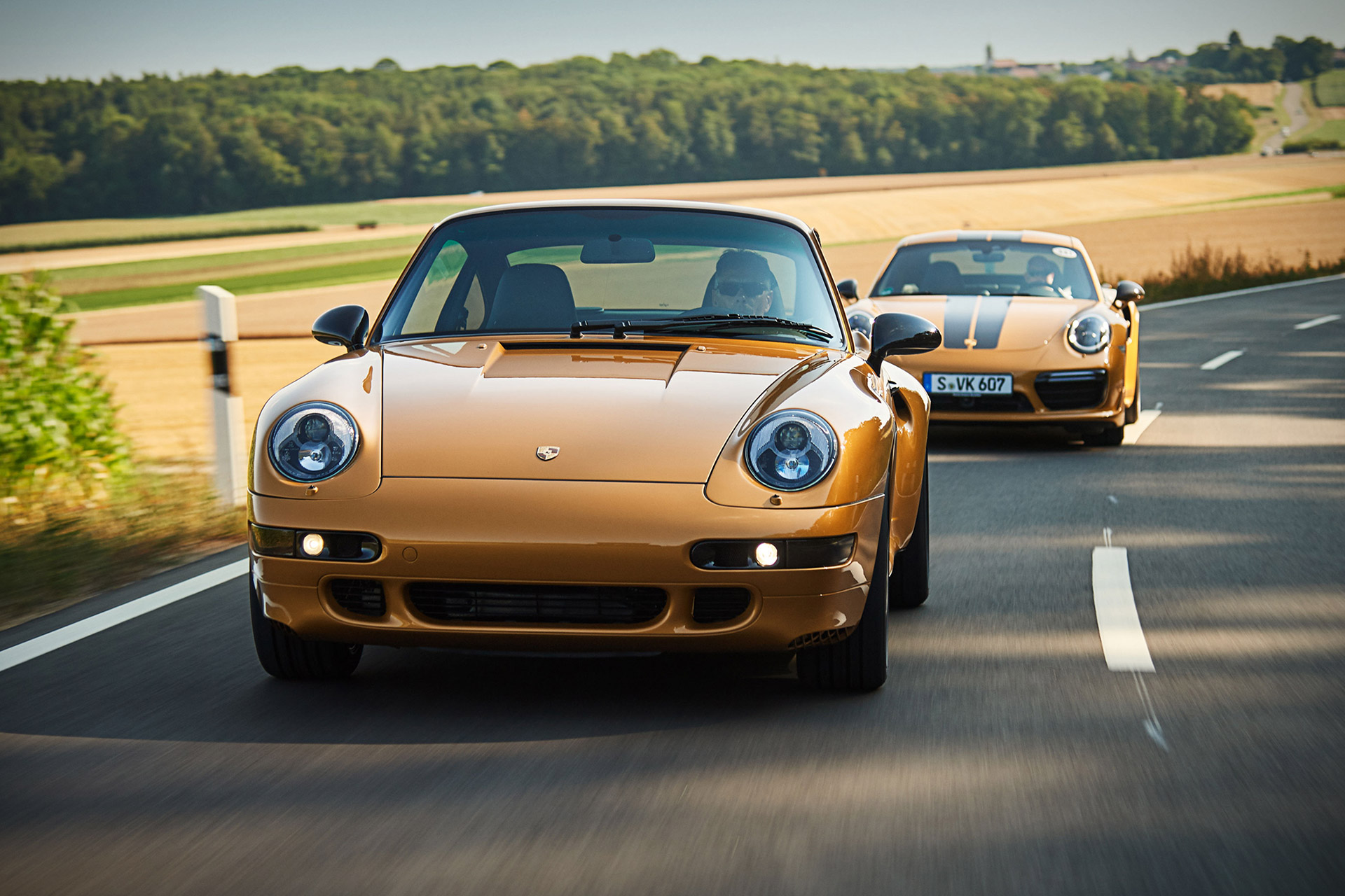 Porsche Project Gold 911 Turbo Coupe