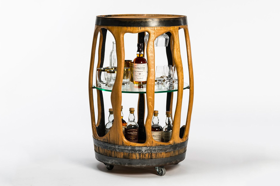 The Balvenie Bar Cart