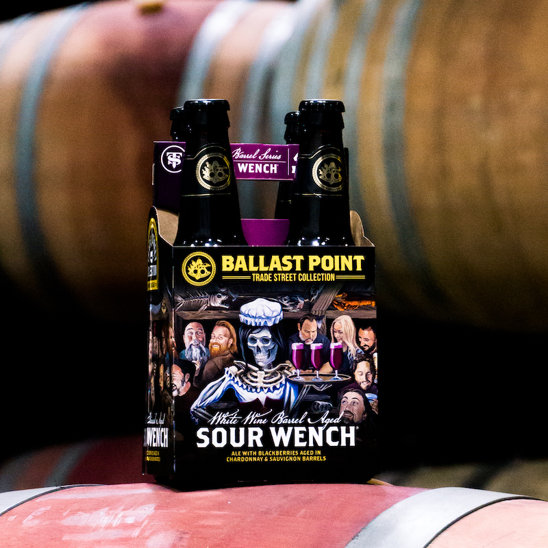 White Wine Barrel-aged Sour Wench in 4pk