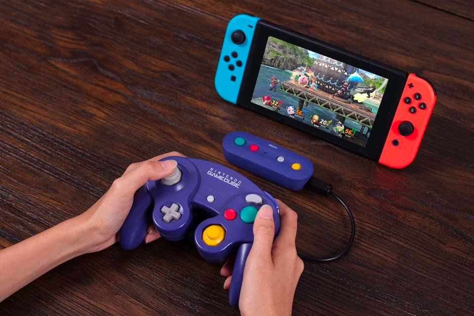 8BitDo Wireless Adapter Lets You Use Your Old Wired Gamecube Controllers