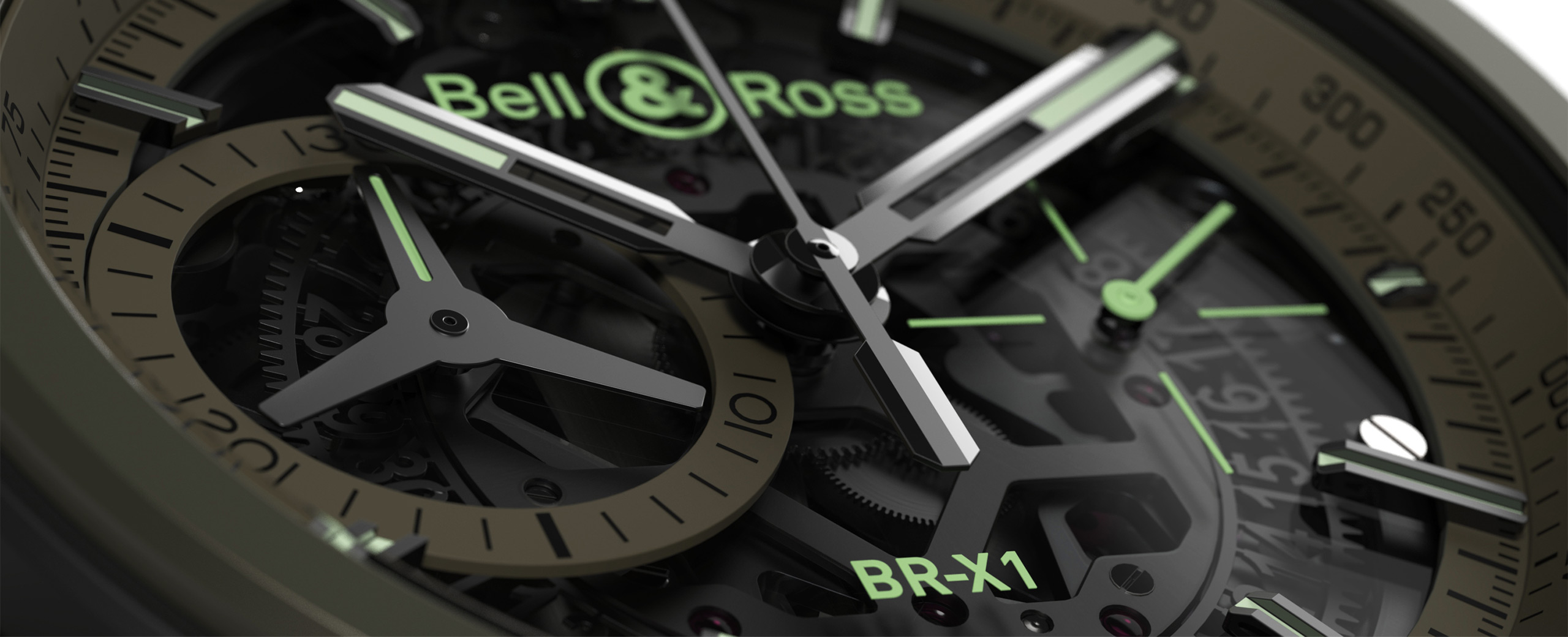 Bell & Ross BR-X1 Military close-up