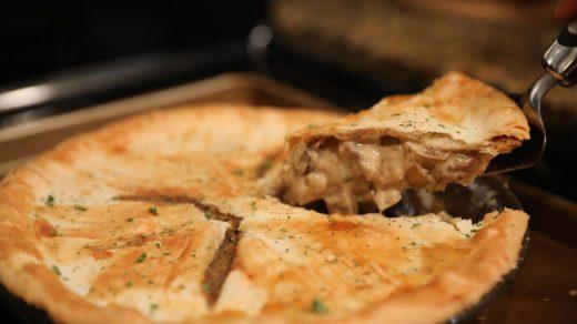 Beef Stroganoff Pie recipe