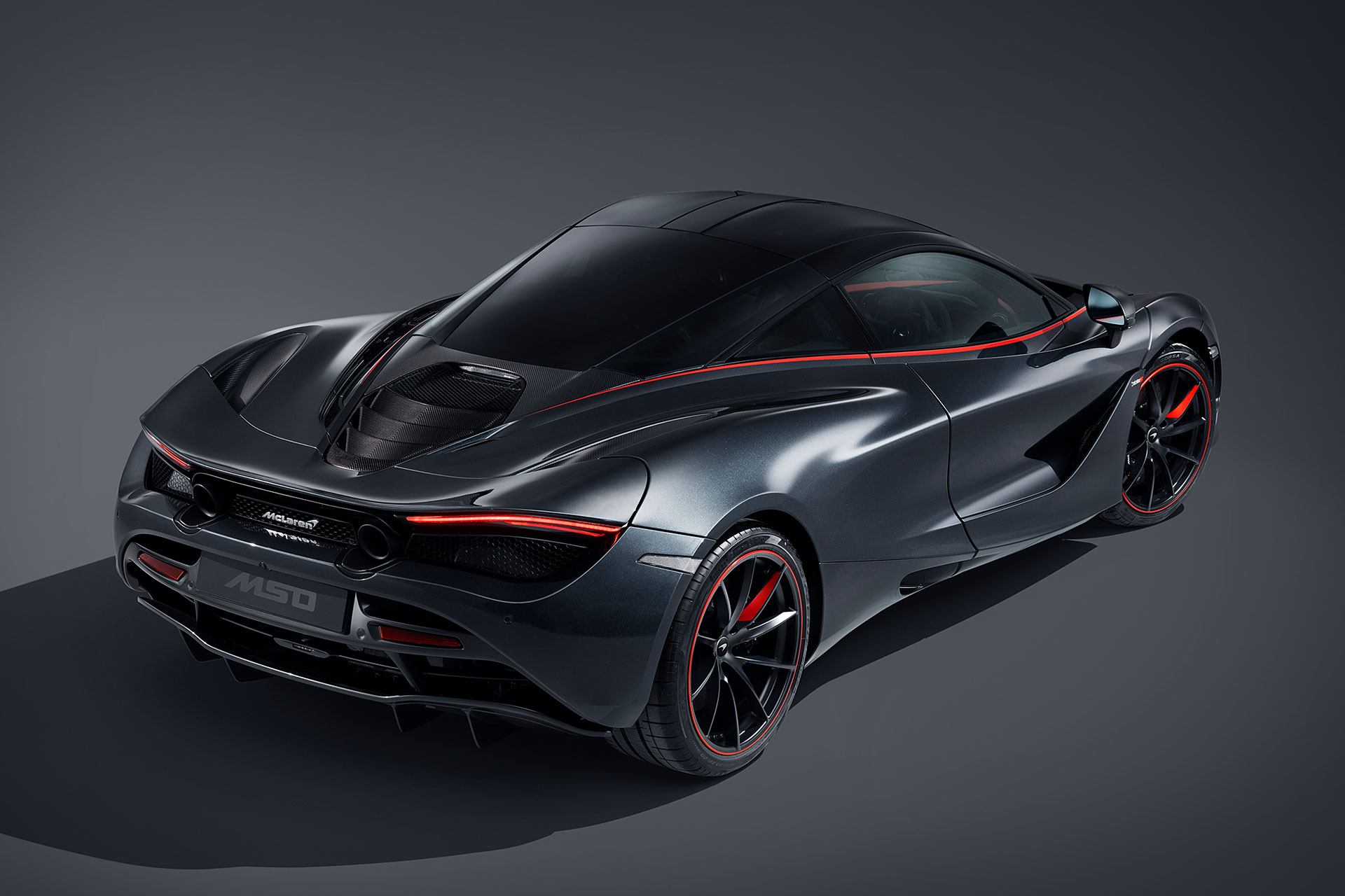 McLaren 720s Stealth Backside